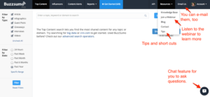 BuzzSumo, Improve Content Marketing Metrics