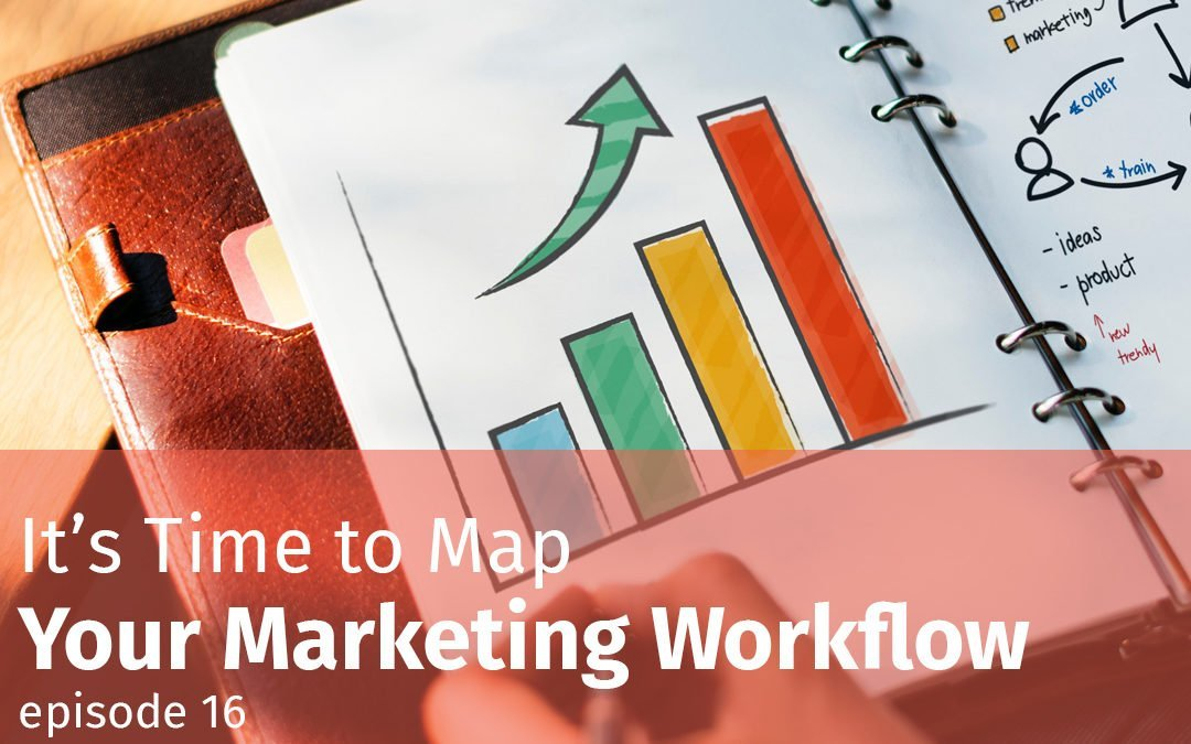 Episode 16 It's Time to Map Your Marketing Workflow
