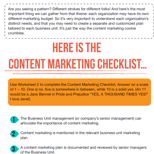 How to access your content marketing landscape using this simple questionnaire.