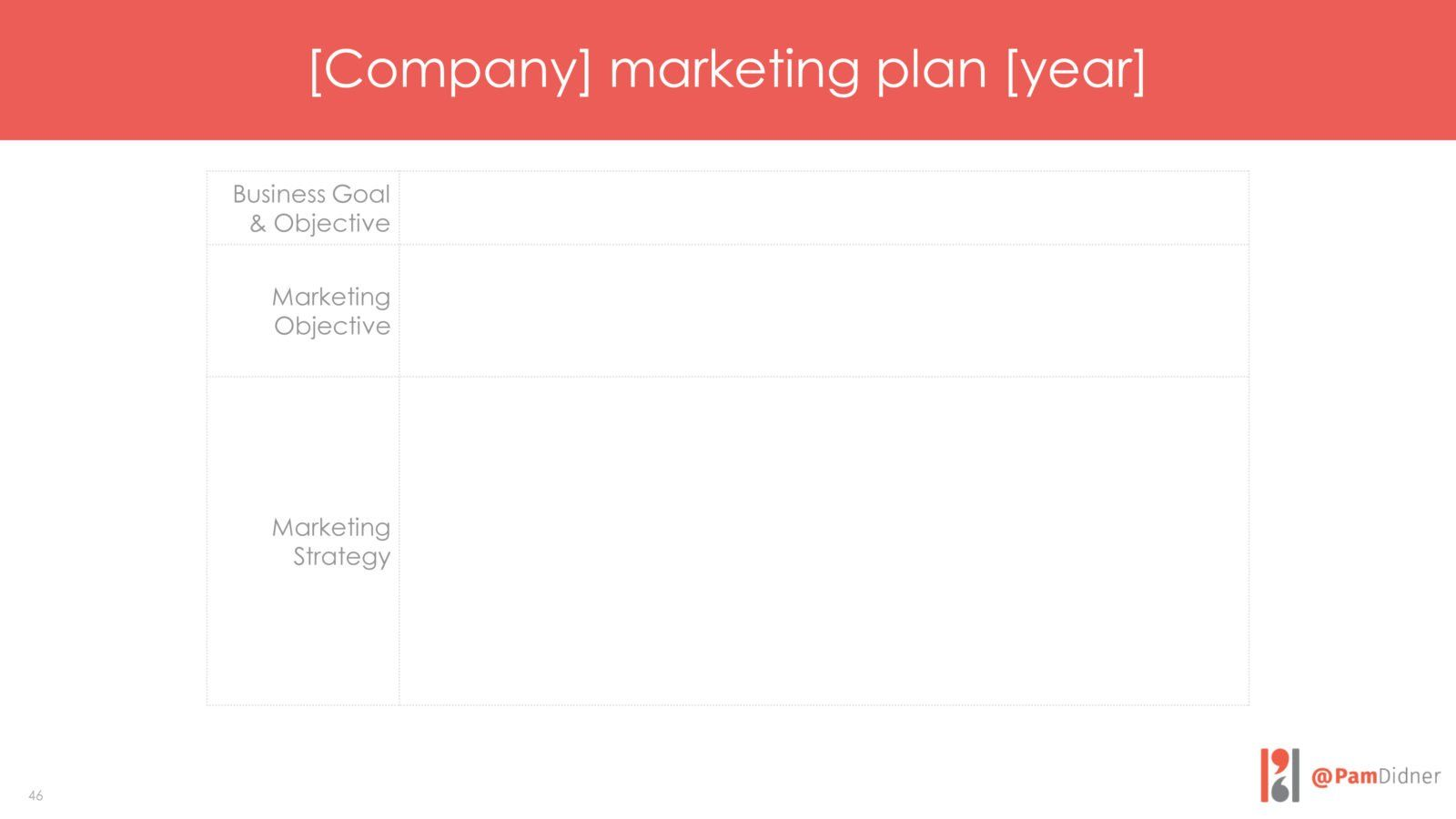 marketing plan example 1