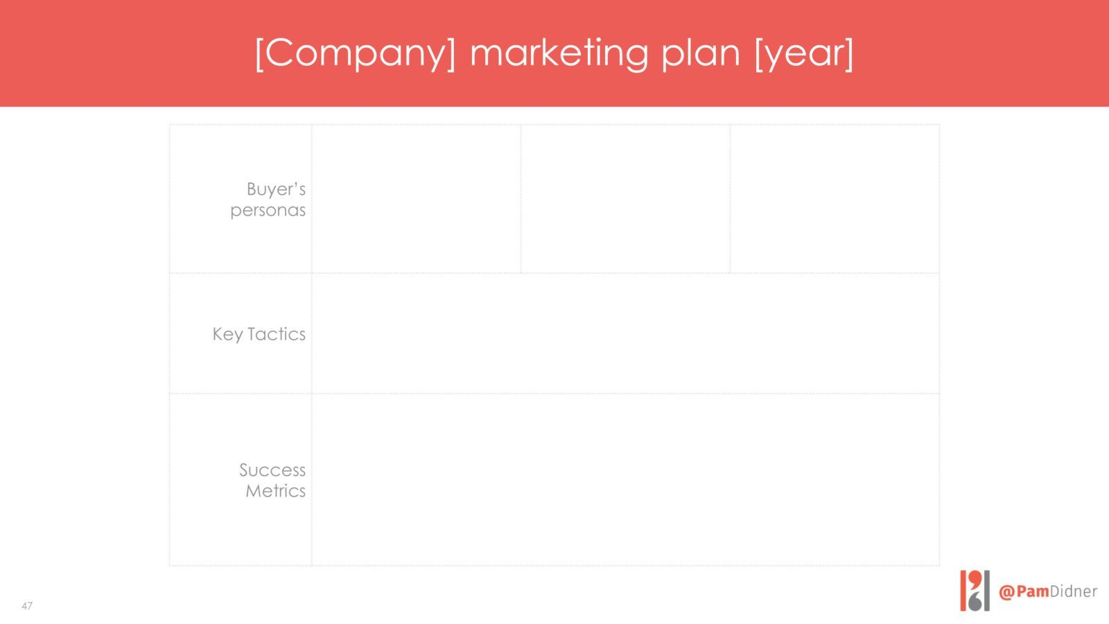 marketing plan example 2