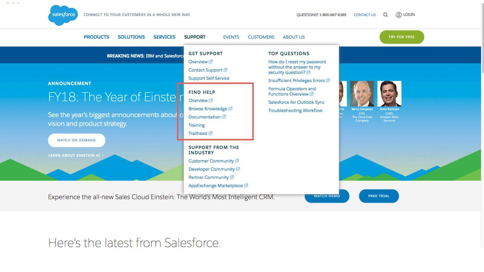 B2B Marketing Examples Salesforce