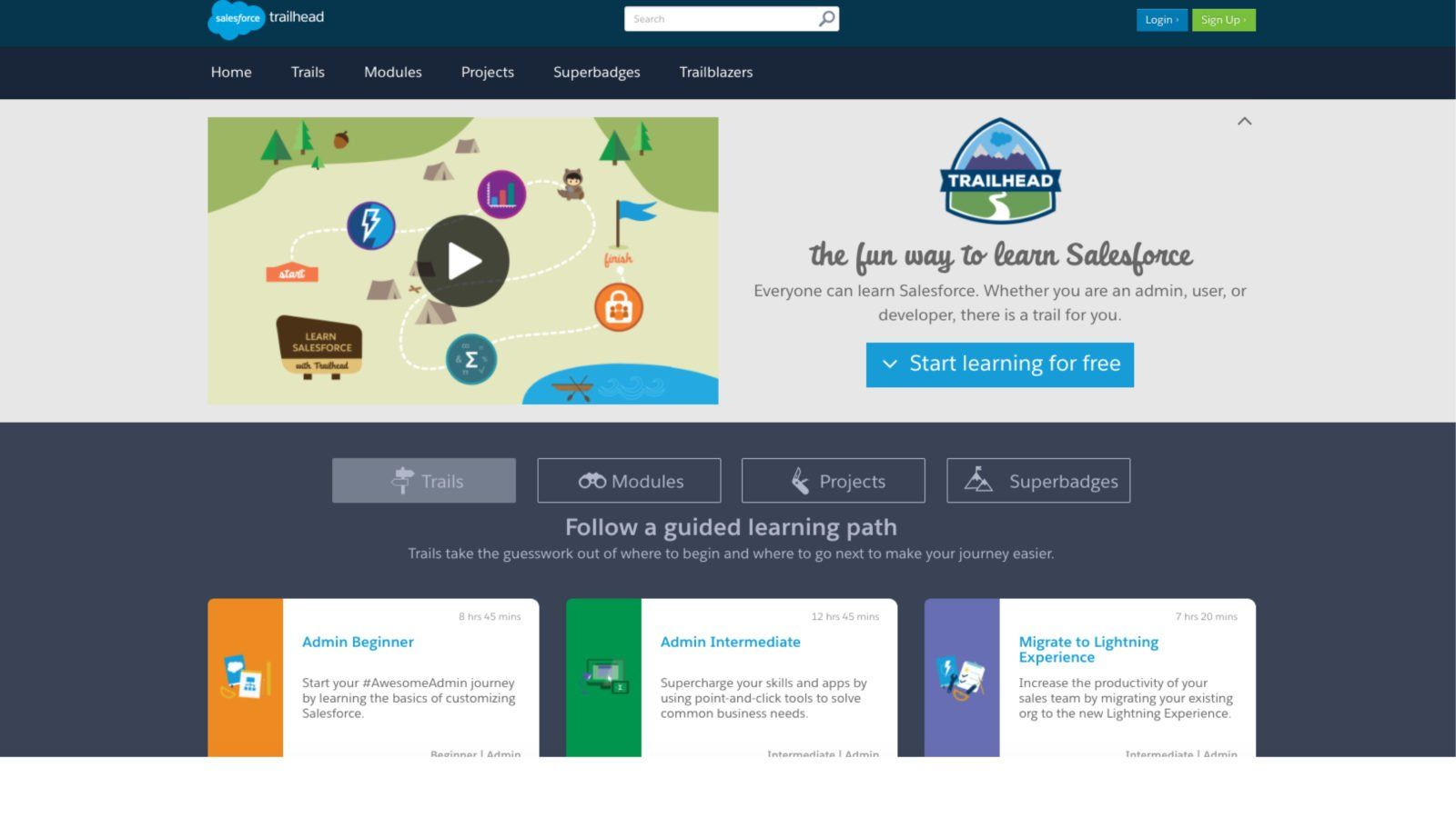 B2B Marketing Examples Trailhead