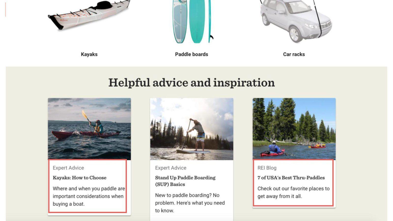 B2B Marketing Examples REI
