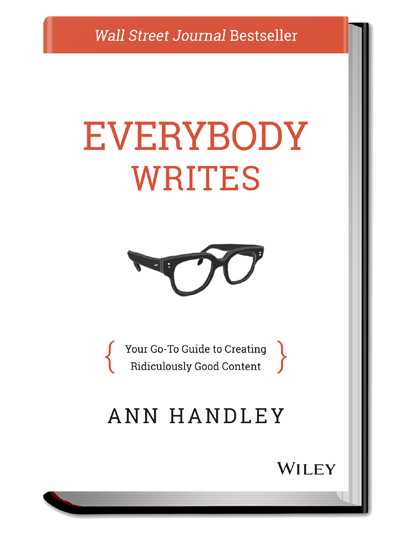 Ann Handley's Everybody Writes!
