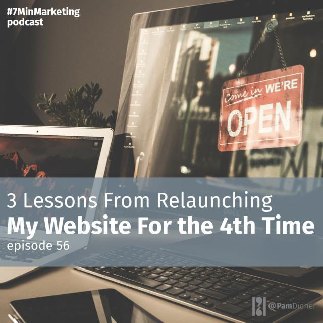 3 Lessons From Relaunching My Website For the 4th Time