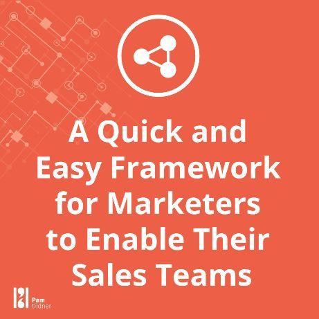For Marketers to Enable Sales Free Ebook